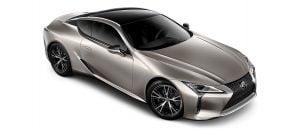 Lexus LC 500h luxury coupe