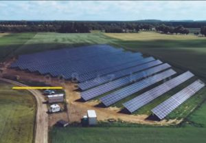 First stage of large-scale solar project by Sun Investment Group is up and running in Gralewo, Poland. It will give with amount of solar energy per day that equals 6 hours of daily TV for over 27 years.
