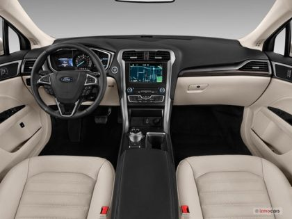Ford Fusion Energi interior