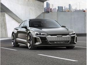 Electrifyingly fun to drive: the Audi e-tron GT concept