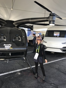 Phu Styles with an electric helicopter