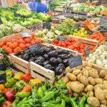 Vegetables in stock