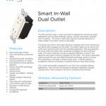 ConnectSense creates home automation products that help keep power levels down and save energy from all of the products use the Smart Outlet