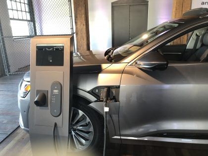 EV Charging AUDI e tron