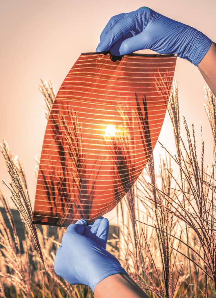 Perskovite solar cells