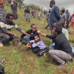 Ethiopia planting trees to save the climate.