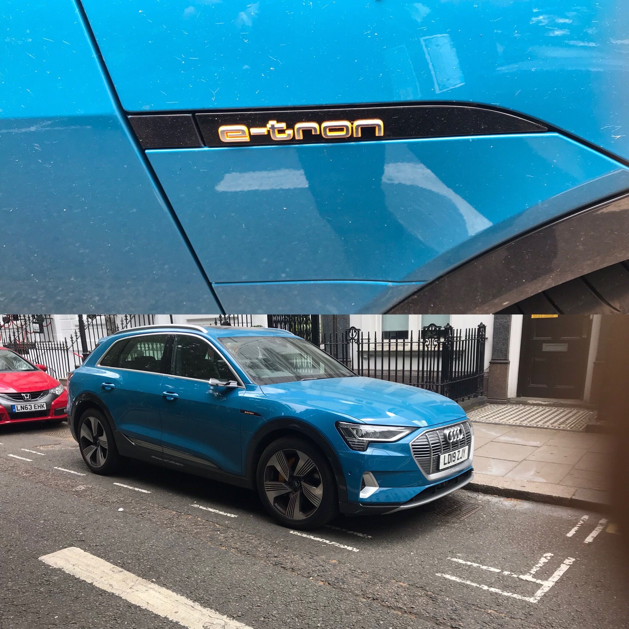 Audi e-tron and spending patterns