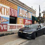 Honda Insight hybrid electric car