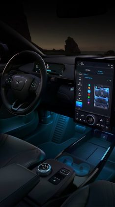 Inside the new Ford Mustang Mach-E