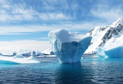Arctic ice levels are shrinking