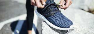 Recycled plastic sneakers